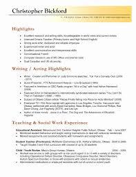 Teacher Resume Examples Fresh Elementary Teacher Resume Examples