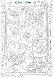Wow Butterflies Patron BordarIndonesia Embroidery Pattern