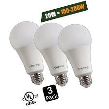 20w 150 200 watt equivalent a21 led light bulb 2300 lumens soft