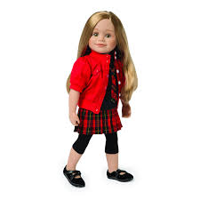 Maplelea Pop Star Plaid 18 Inch Doll Outfit Clothing Shoes