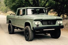 Dodge Power Wagon HEMI Restomod By Icon Is A Cool Pickup Truck ...