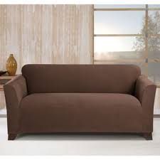 World Market Luxe Sofa Slipcover Charcoal by Buy Sure Fit Sofa Covers From Bed Bath U0026 Beyond