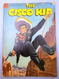 1954 Dell THE CISCO KID 10c Comic Book
