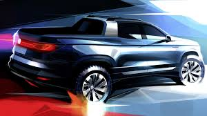 100 Compact Pickup Trucks New VW Concept Teased Previews 2020 Production Model