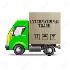 International Trade Delivery Truck Import And Export Worldwide ...