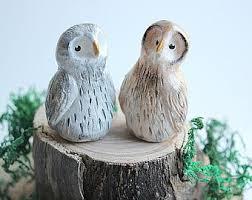 Cute Owls Cake Topper