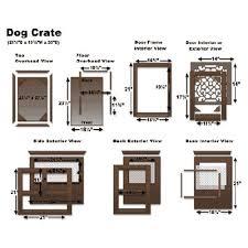 38 best dog images on pinterest dog crate furniture diy dog