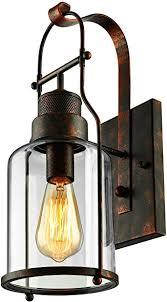 baycheer laterne retro vintage pendelleuchte hängele industrie kronleuchter deckenle e27 fassung höhenverstellbar mit glas für wohnzimmer