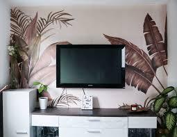 wohnzimmer inspiration mit einer fototapete photowall