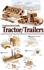 1791 Wooden Truck And Trailer Plan - Children's Wooden Toy Plans And ... Wooden Truck Plans Childrens Toy And Projects 2779 Trucks To Be Makers From All Over The World 2014 Woodarchivist Model Cars Accsories Juguetes Pinterest Roadster Plan C Cab Stake Toys Wood Toys Fire 408