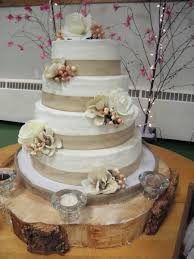 Rustic Themed Wedding Cake On Central