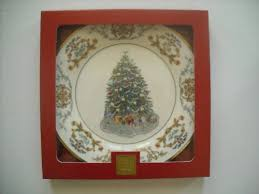 For Sale Lenox 2001 Christmas Trees Around The World Collector Plate Ireland Eleventh Tree