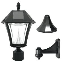 ii outdoor black resin solar powered lights ikea security light