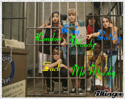 The Cast Of Sweet Life On Deck by The Suite Life On Deck Crew In The County Jail Picture 98021907