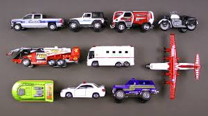 Learning Emergency Vehicles For Kids #3 - Rescue Trucks Cars By Hot ...