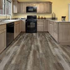 Easy Rustic Beige Resilient Vinyl Plank Flooring The Home Depot
