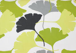 Curtain Fabric By The Yard by Lime Green Ginkgo Fabric By The Yard Curtain Upholstery Fabric