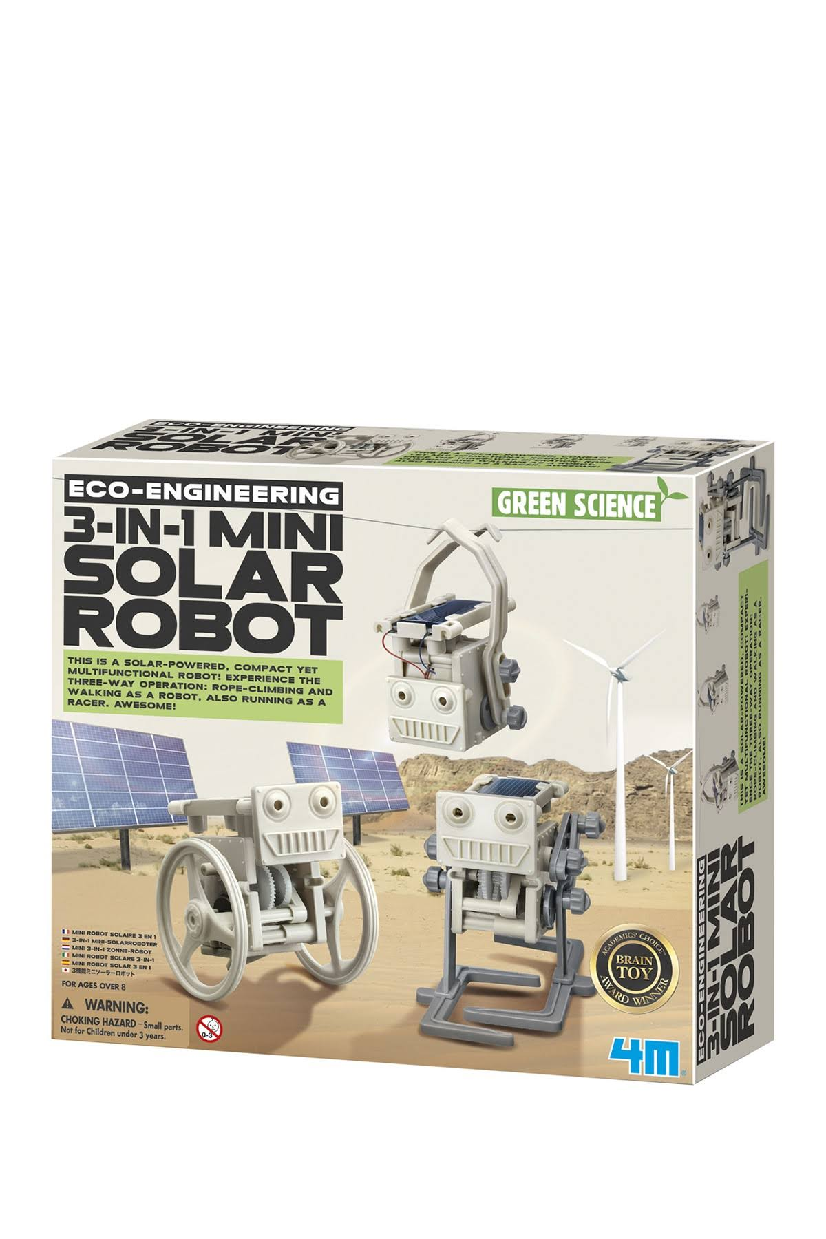 3 - in - 1 Mini Solar Robot