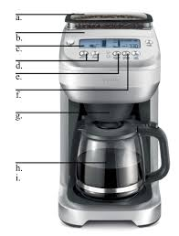 Breville BDC500REF Drip Coffee Maker 12 Cup Glass Factory