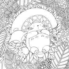 Pintatelotu Coloring Colorier Studio Ghibli Pinterest