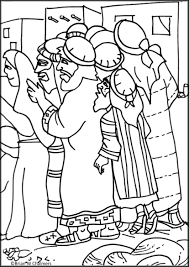 Zaccheus Coloring Page