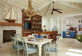 Dutch West Indies Coastal Living Room