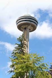 Skylon Tower Revolving Dining Room by Skylon Tower At Niagara Falls Ontario Canada This Tower With
