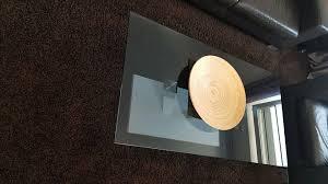 glastisch couchtisch wohnzimmer beistelltisch weko