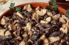 cuisiner les morilles ris de veau et poulet aux morilles