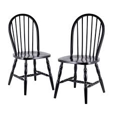 Winsome Wood Windsor Dining Chair (Set Of 2) | Lowe's Canada ...