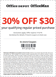 Office Depot Coupons - 30% Off $30 At Office Depot, Or ... Office Depot On Twitter Hi Scott You Can Check The Madeira Usa Promo Code Laser Craze Coupons Officemax 10 Off 50 Coupon Mci Car Rental Deals Brand Allpurpose Envelopes 4 18 X 9 1 Depot Printable April 2018 Giant Eagle Officemax Coupon Promo Codes November 2019 100 Depotofficemax Gift Card Slickdealsnet Coupons 30 At Or Home Code 2013 How To Use And For Hedepotcom 25 Photocopies 5lbs Paper Shredding Dont Miss Out Off Your Qualifying Delivery Order Of Official Office Depot Max Thread