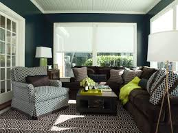 Brown Couch Living Room by Photos Ann Lowengart Hgtv