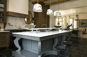 cuisine avec grand ilot central grand ilot de cuisine rustique ilot table grand cuisine avec grand