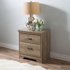 South Shore Furniture Dressers by South Shore Versa 2 Drawer Nightstand Weathered Oak Home