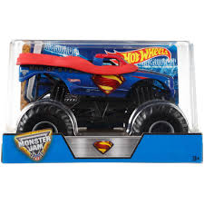 Hot Wheels Monster Jam 1:24 Batman Die-Cast Vehicle - Justdealsstore.com