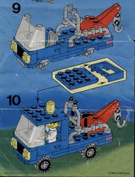 100 Lego City Tow Truck LEGO Instructions 6656