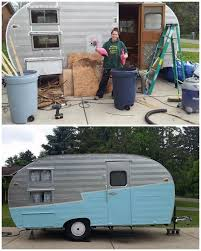 Gidget The Vintage Trailer Renovations Before And After Diy Home Improvement Maintenance