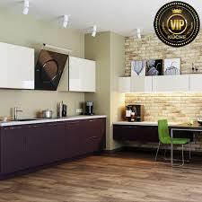 moderne wohnküche capry einbauküche premiumklasse marengo weiß hochglanz