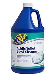 acidic toilet bowl cleaner details