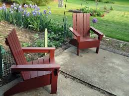 Outdoor Table Plans Free by 15 Free Adirondack Chair Plans To Build At Home