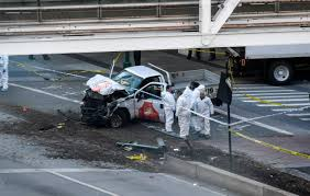 In Manhattan, A Mangled School Bus And Bodies Everywhere; 'It Was ...
