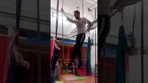 Trapeze Bar For Bed by Trapeze Bar Balance Youtube