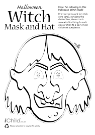 Images Of Halloween Mask Templates Witches