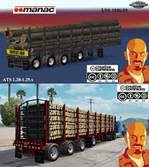 Manac 4 Axis Log Trailer For Ats 1.28.x-1.29.x » American Truck ... Classic Log Truck Simulator 3d Android Gameplay Hd Vido Dailymotion Mack Titan V8 Only 127 Log Clean Truck Mod Ets2 Mod Drawing Games At Getdrawingscom Free For Personal Use Whats On Steam The Game Simula Transport Company Kenworth T800 Log Truck Download Fs 17 Mods Free Community Guide Advanced Tips And Tricksprofessionals Hayes Pack V10 Fs17 Farming Mod 2017 Manac 4 Axis Trailer Ats 128 129x American Kw Eid Ul Azha Animal Game 2016 Jhelumpk