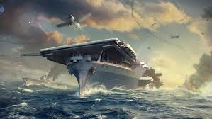 fonds d ecran porte avions mer navire world of warship yorktown