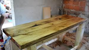 making a solid oak top wooden workbench youtube