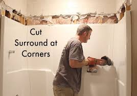 Tiling A Bathtub Enclosure by How To Remove A Fiberglass Bathtub And Surround In 60 Minutes
