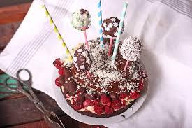 geburtstags brownie cake pop cake glutenfrei l bakeart