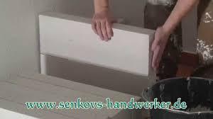 küche selber bauen bauanleitung ytong porenbeton steine