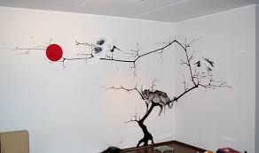 Wall Drawing Ideas Extraordinary Stylish Inspiration Cool Decorations With Drawings Home Design